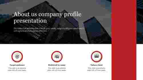 Best About us company profile presentation