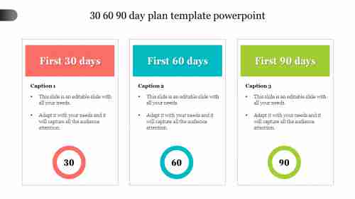 Editable%2030%2060%2090%20Day%20Plan%20Template%20PowerPoint