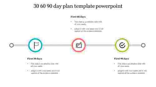 Customized%2030%2060%2090%20Day%20Sales%20Plan%20Template-Circle%20Diagram