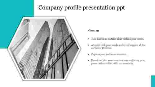 company profile presentation ppt template