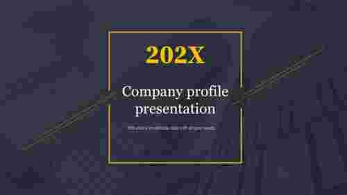 company profile presentation for title slide
