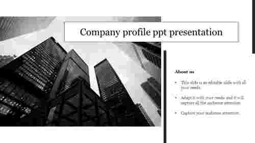 Creative company profile ppt presentation