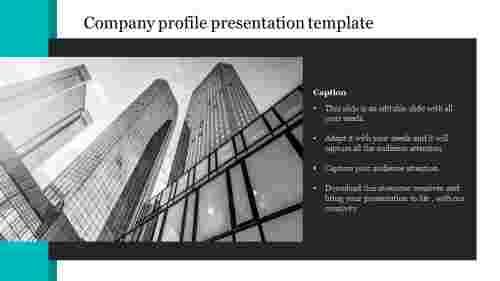 Creative company profile presentation template