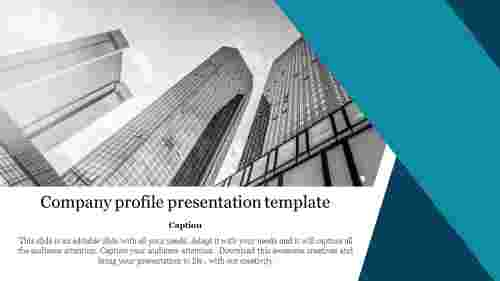 Best company profile presentation template