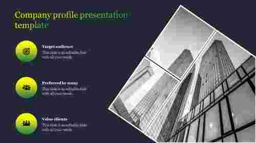 Best company profile presentation template