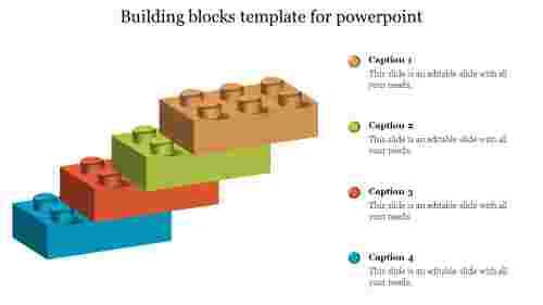 Creativebuildingblockstemplateforpowerpoint