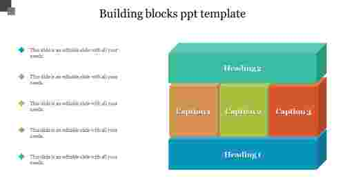 building blocks ppt template