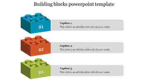 Levelsofbuildingblockspowerpointtemplate