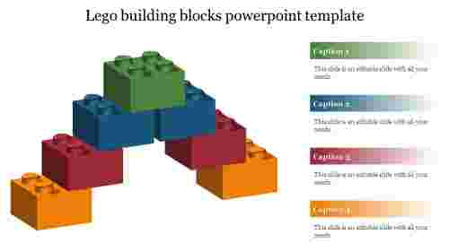 lego building blocks powerpoint template