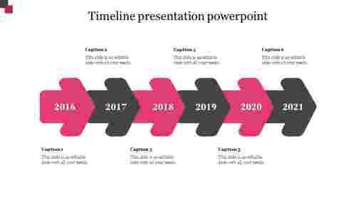Business timeline presentation powerpoint