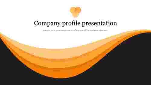 Best company profile presentation