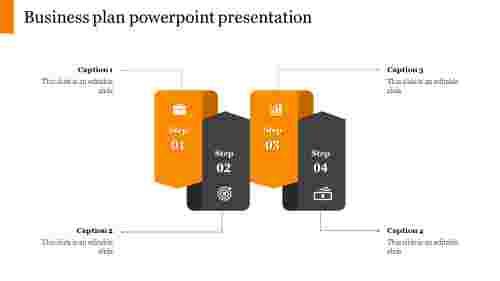 Creative business plan powerpoint presentation slide