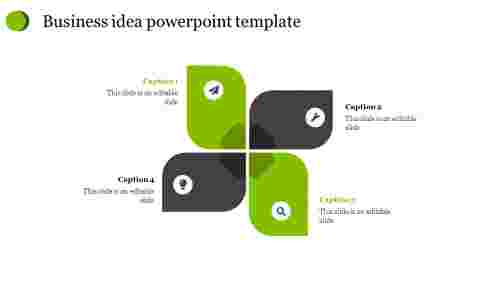 Creative business idea powerpoint template