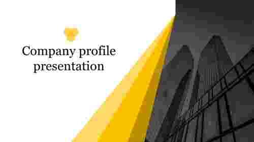 Best company profile presentation slide