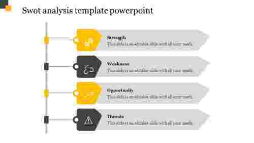 Company swot analysis template powerpoint