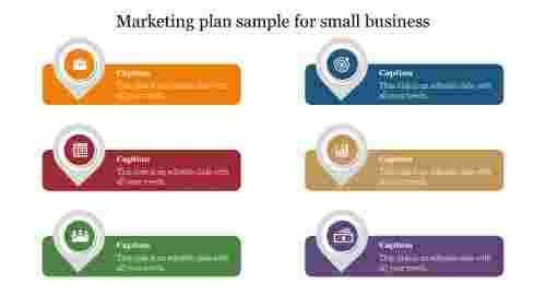 Creative marketing plan sample for small business