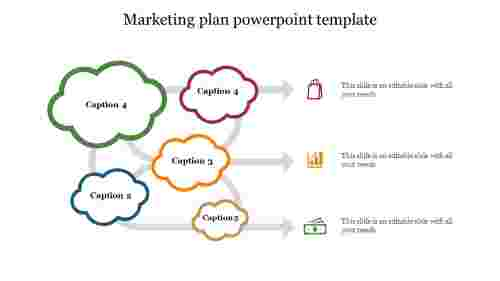 Creative marketing plan powerpoint template