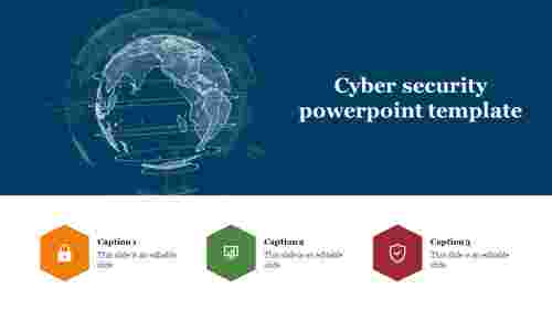 Creative cyber security powerpoint template