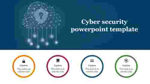 Innovative Cyber security powerpoint template