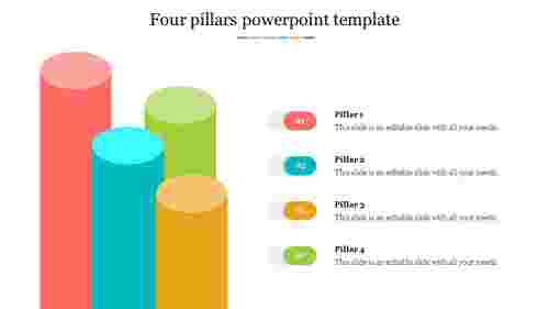 Attractive%204%20Pillars%20PowerPoint%20Template%20Design