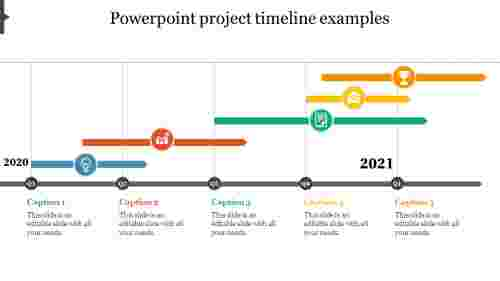 powerpoint project timeline examples
