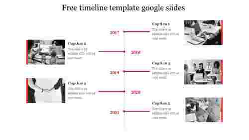 free timeline template google slides