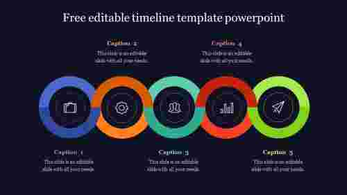 free editable timeline template powerpoint