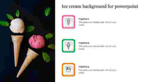ice cream background for powerpoint