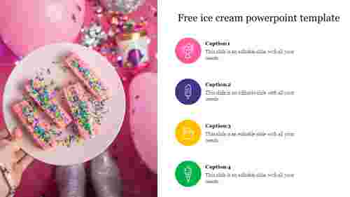 free ice cream powerpoint template
