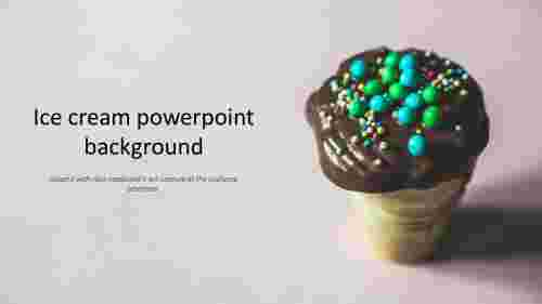 ice cream powerpoint background