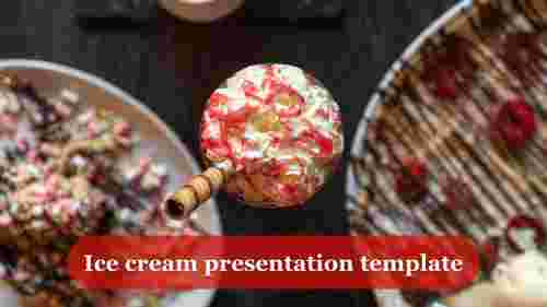 ice cream presentation template