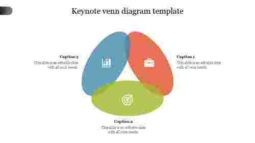 Keynote venn diagram template slide