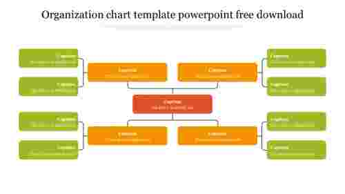 Organization chart template powerpoint free download