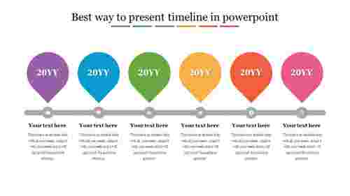 The best way to present timeline in powerpoint