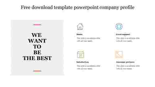 Free download template powerpoint company profile