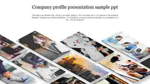Company profile presentation sample ppt template