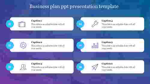 Business plan ppt presentation template