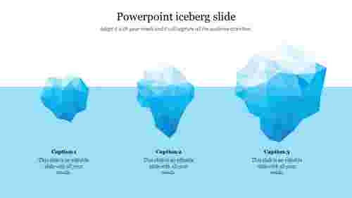 powerpoint iceberg slide