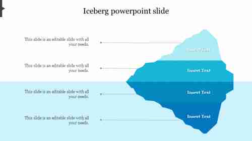 iceberg powerpoint slide