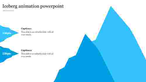 iceberg animation powerpoint
