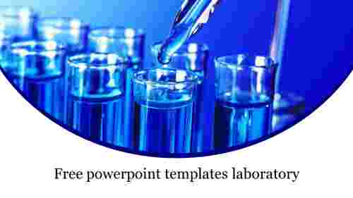 Free powerpoint templates laboratory theme
