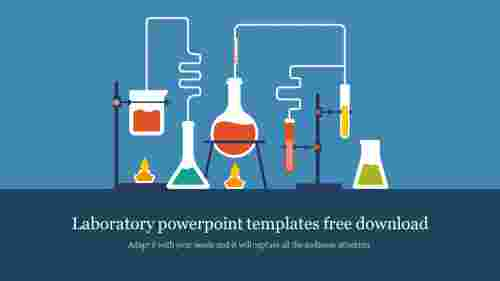 Simple laboratory powerpoint templates free download