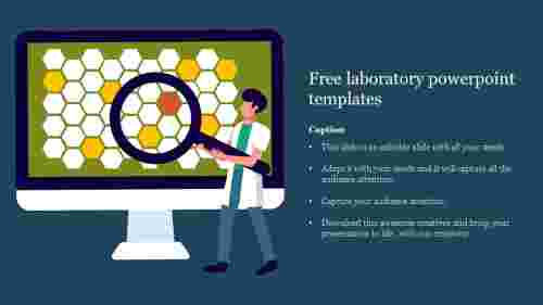Free laboratory powerpoint templates slide