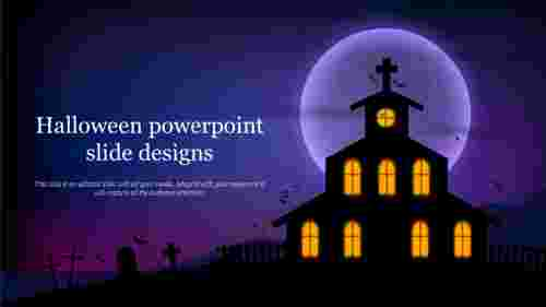 halloween powerpoint slide designs