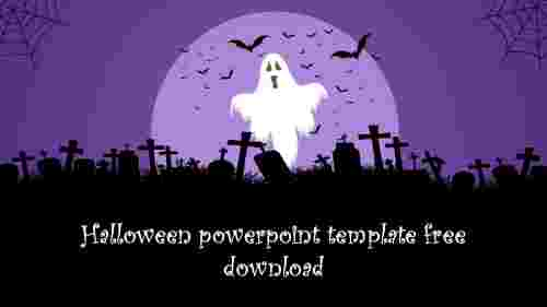 Creative halloween powerpoint template free download