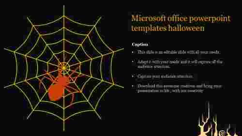 Microsoft office powerpoint templates halloween presentation