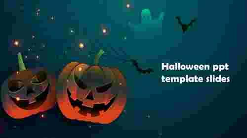 Halloween ppt template slides for presentation