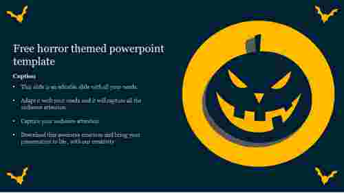 horror themed powerpoint template