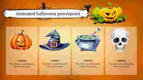 Best animated halloween powerpoint template