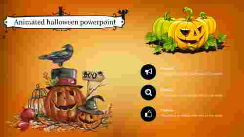 Best animated halloween powerpoint template